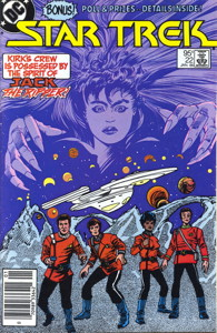 Star Trek #22 Newsstand (CA)