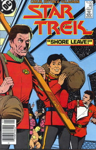 Star Trek #46 Newsstand (CA)