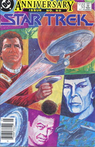 Star Trek #50 Newsstand (CA)
