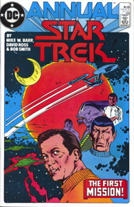 Star Trek Annual #1 Direct
