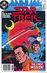 Star Trek Annual #1 Newsstand (US)