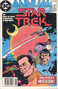 Star Trek Annual #1 Newsstand (CA)