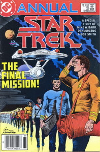 Star Trek Annual #2 Newsstand (CA)