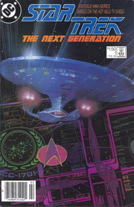 Star Trek: The Next Generation #1 Newsstand (US)