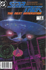 Star Trek: The Next Generation #1 Newsstand (CA)