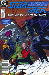 Star Trek: The Next Generation #2 Newsstand (US)