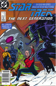Star Trek: The Next Generation #2 Newsstand (CA)