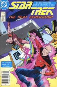 Star Trek: The Next Generation #3 Newsstand (US)