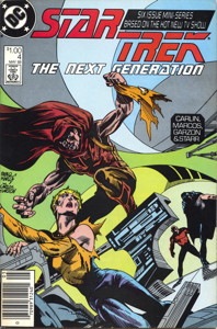 Star Trek: The Next Generation #4 Newsstand (US)