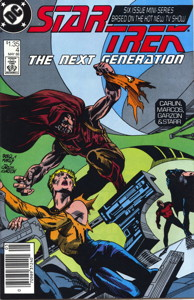 Star Trek: The Next Generation #4 Newsstand (CA)