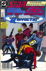 Star Trek: The Next Generation #5 Newsstand (US)