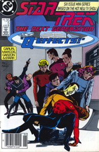 Star Trek: The Next Generation #5 Newsstand (CA)