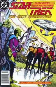 Star Trek: The Next Generation #6 Newsstand (US)