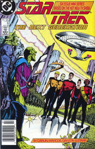 Star Trek: The Next Generation #6 Newsstand (CA)