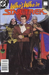 Who's Who in Star Trek #1 Newsstand (CA)