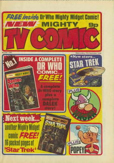 Mighty TV Comic #1292, 18 Sep 1976