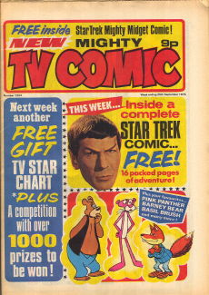 Mighty TV Comic #1293, 25 Sep 1976