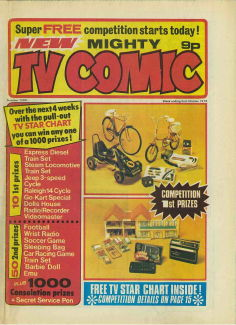 Mighty TV Comic #1294, 2 Oct 1976