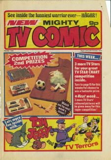 Mighty TV Comic #1295, 9 Oct 1976