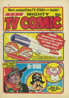 Mighty TV Comic #1296, 16 Oct 1976