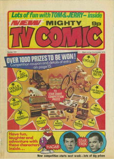 Mighty TV Comic #1297, 23 Oct 1976