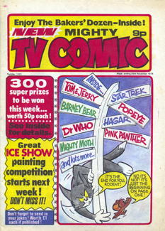 Mighty TV Comic #1301, 20 Nov 1976