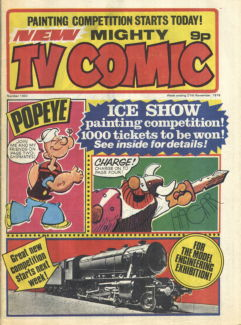 Mighty TV Comic #1302, 27 Nov 1976