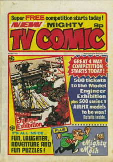 Mighty TV Comic #1303, 4 Dec 1976