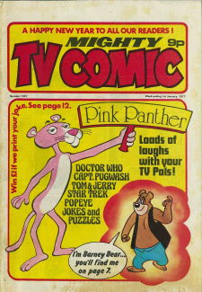 Mighty TV Comic #1307, 1 Jan 1977