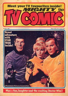 Mighty TV Comic #1309, 15 Jan 1977