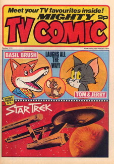 Mighty TV Comic #1313, 12 Feb 1977