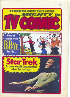 Mighty TV Comic #1317, 12 Mar 1977
