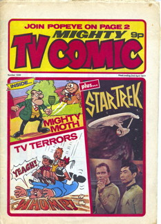 Mighty TV Comic #1320, 2 Apr 1977