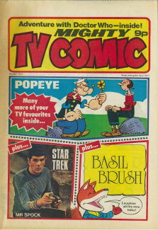 Mighty TV Comic #1321, 9 Apr 1977