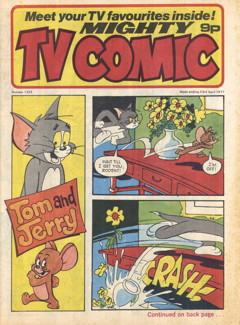 Mighty TV Comic #1323, 23 Apr 1977