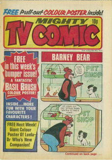 Mighty TV Comic #1328, 28 May 1977