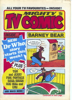 Mighty TV Comic #1334, 9 Jul 1977