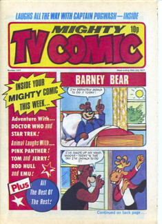 Mighty TV Comic #1337, 30 Jul 1977