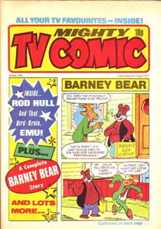 Mighty TV Comic #1340, 20 Aug 1977