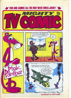 Mighty TV Comic #1342, 3 Sep 1977